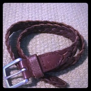 Carters brown leather belt